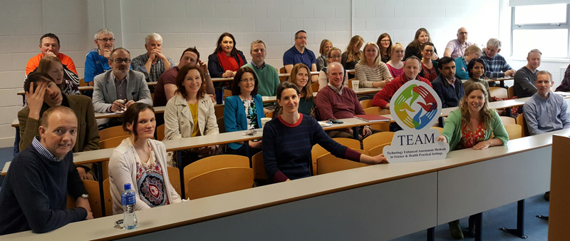 Launch of Sligo TEAM workshop